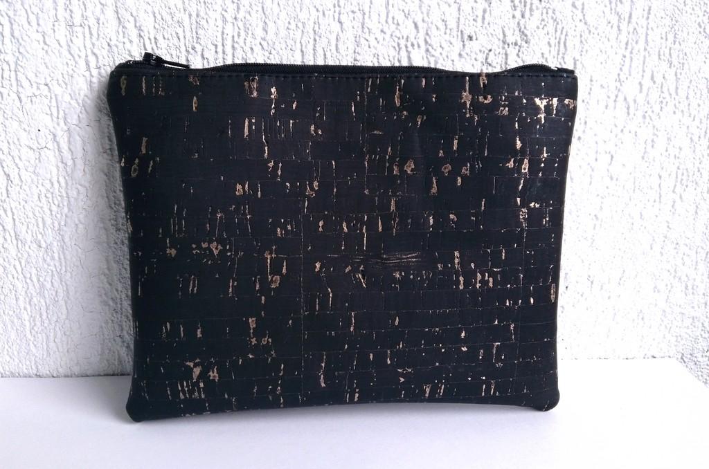 trousse liege noir doré