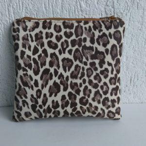 porte monnaie leopard l