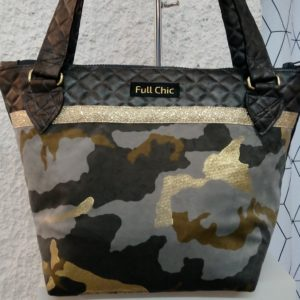 sac t camouflage velours